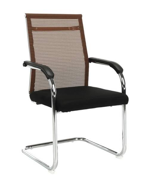 Tempo Kondela Zasadacia stolička hnedá/čierna ESIN