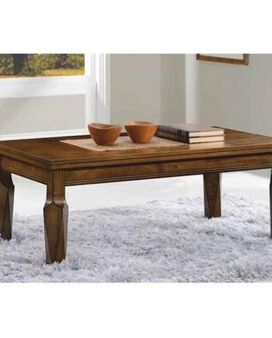 Konferenčný stolík antický dub RUSTY poškodený tovar