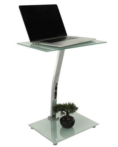 Príručný stolík biela PELOK