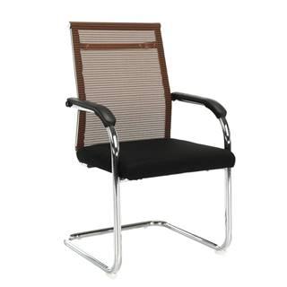 Zasadacia stolička hnedá/čierna ESIN