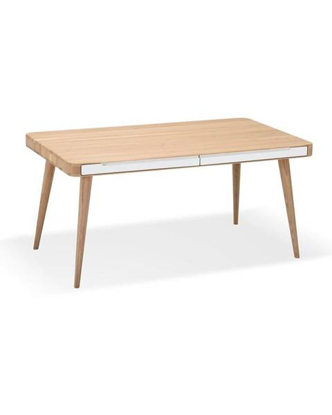 Gazzda Jedálenský stôl z dubového dreva Gazzda Ena Two, 160×90 cm