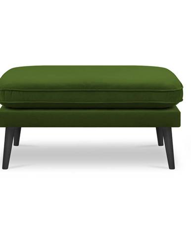 Zelená podnožka Kooko Home Lento