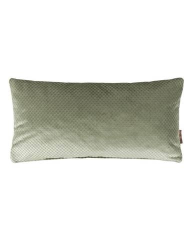 Zelený vankúš Dutchbone Spencer, 60×30 cm