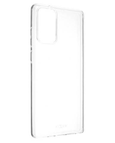 Kryt na mobil Fixed na Samsung Galaxy Note20 priehľadný