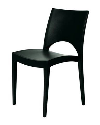 Jedálenská stolička PARIS antracitová