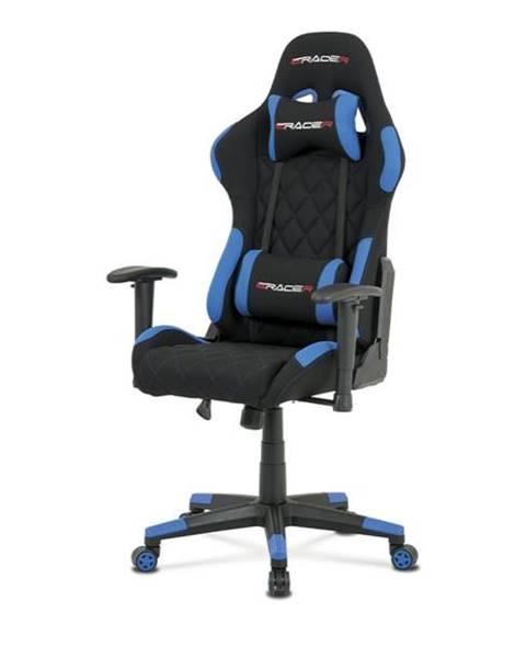 Sconto Kancelárska stolička NIKI modrá/čierna