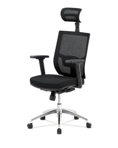 Sconto Kancelárska stolička STUART čierna