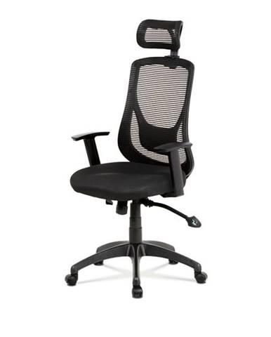 Kancelárska stolička GEORGE čierna