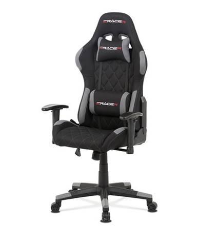 Kancelárska stolička NIKI sivá/čierna