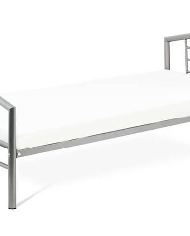 Posteľ CORTINA sivá, 90x200 cm