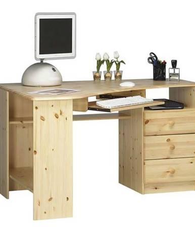 Rohový PC stôl KENT 279/19 borovica