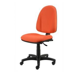 Kancelárska stolička DONA oranžová