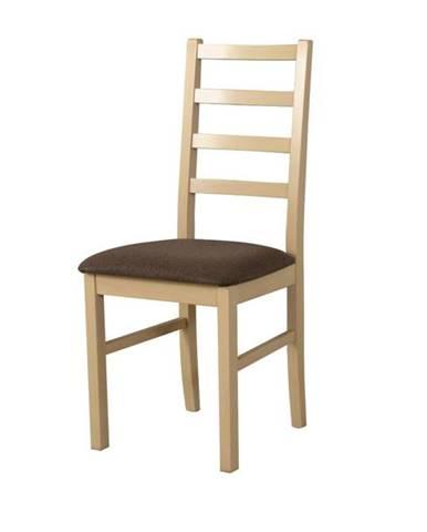 Jedálenská stolička NILA 8 hnedá/sonoma