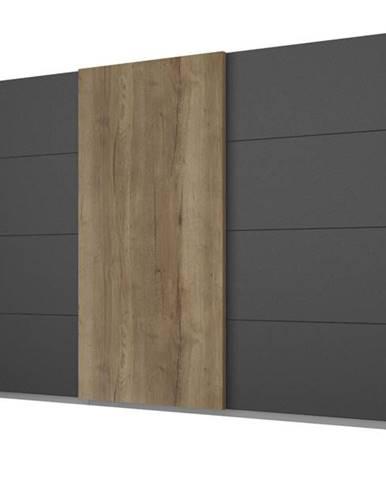 Šatníková skriňa WINDSOR 3-dverová