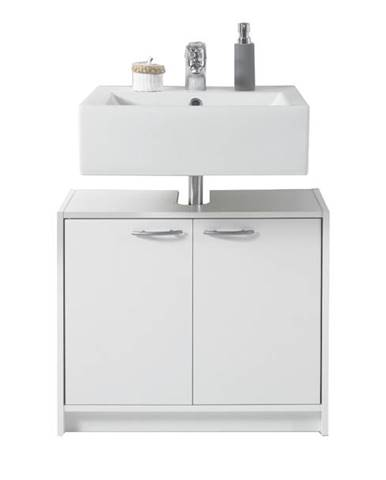 Umývadlová skrinka SMASH biela