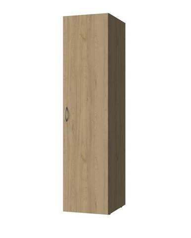 Viacúčelová skriňa MULTIRAUMKONZEPT 640, buk, 45 cm