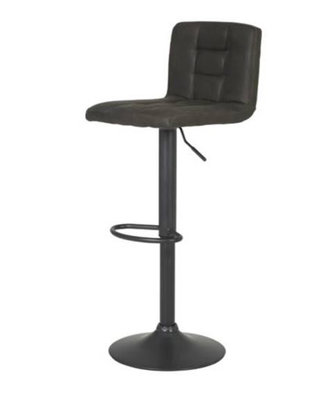 Sconto Barová stolička AMANDA vintage bahno