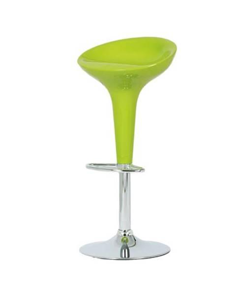 Sconto Barová stolička NEVADA 1 zelená