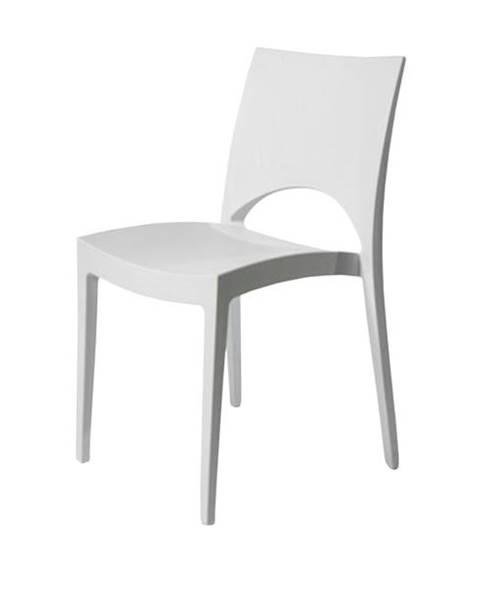 Sconto Jedálenská stolička PARIS biela