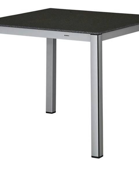 Sconto Záhradný stôl ELEMENTS 2 strieborná/antracit