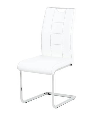 Jedálenská stolička ARABELA biela