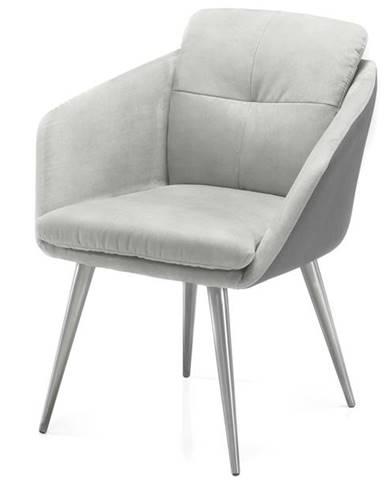 Jedálenská stolička EMILY 2 sivá