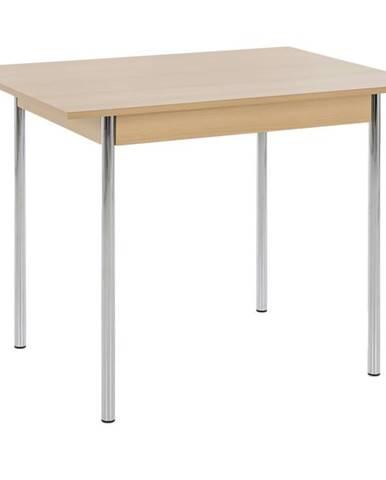 Jedálenský stôl KOELN II buk/chróm