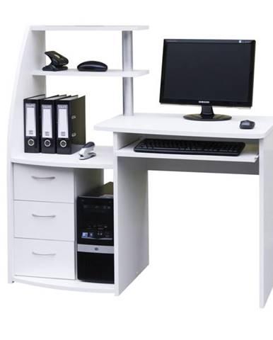 PC stôl WIKING biela