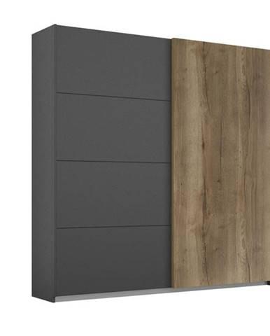 Šatníková skriňa WINDSOR 2-dverová