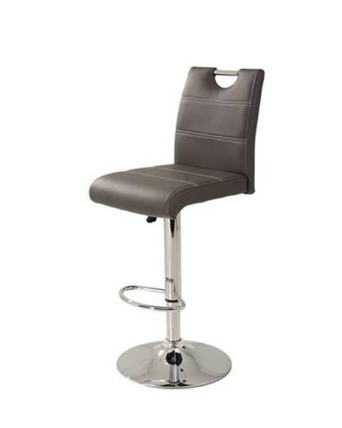 Sconto Barová stolička MIRANDA H sivá