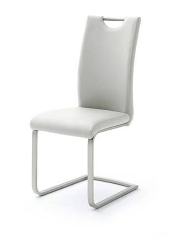 Jedálenská stolička PIPER biela