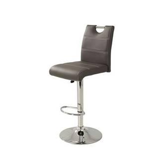 Barová stolička MIRANDA H sivá