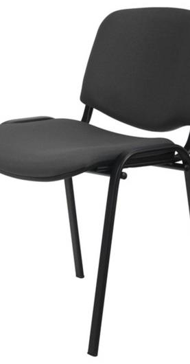 Konferenčná stolička ISO čierna/sivá